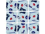 b. dazzle Seattle Seahawks NFL 9Piece Puzzle 9SIADWW5WC0882