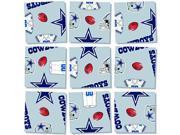b. dazzle Dallas Cowboys NFL 9Piece Puzzle 9SIADWW5WC1862