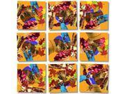 B Dazzle Fall Festival Scramble Squares 9 Piece Puzzle 9SIADWW5U52656