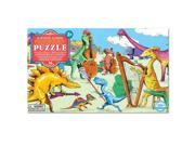 eeBoo Dinosaurs at Leisure Panoramic Floor Puzzle, 36 pieces 9SIADWW6MH3824