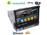 Free wireless camera included!Single din High Resolution 7 inch Digital LED Backlit LCD TFT Display Removable panel with gps car dvd player newest android 6.0 c 9SIADY06416713