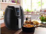 Emerald Air Fryer with Digital LED Touch Display 1400 Watts - 3.2L Capacity (1802) 9SIADZX5UU3402