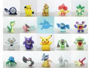 24 pcs/pack Pikachu Pokemon Go Action Figures Toy Mini 2-3 CM Monster Toys Set 9SIAE215WC4642