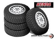 4X Kenda Klever M/T KR29 245/70R17 119/116Q 10P E All Terrain Mud Tires MT