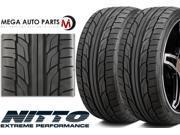 2 Nitto NT555 G2 295/45ZR18 112W XL Summer Ultra High Performance Tires