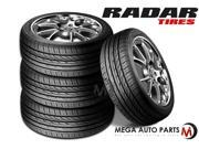 4 X New Radar Dimax R8 215/55ZR17 98W XL All Season Ultra High Performance Tires