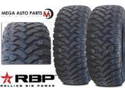 2 X New RBP Repulsor MT 33X12.50R15LT 6PR 108Q All Terrain Mud Tires MT