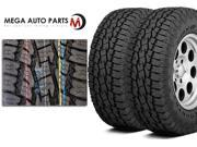2 Toyo Open Country A/T II LT285/70R17/10 OWL 121S All Terrain On Off Road Tires