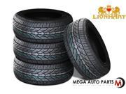 4 X New Lionhart LH-TEN 285/50R20 116V XL All Season High Performance Tires