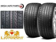 2 X New Lionhart LH-002 245/45ZR17 99W XL All Season High Performance Tire