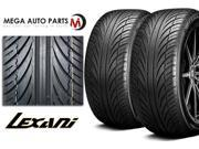 2 X New Lexani LX-Seven 225/30R22 87W XL All Season Ultra High Performance Tires