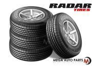 4 X New Radar RIVERA GT10 235/70R16 104T M+S All Season High Performance Tires