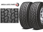 2 X New Hankook RF10 DYNAPRO AT-M LT295/70R17 121/118R E/10 BW All Terrain Tires