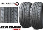 2 X New Radar Dimax R8+ 255/40R18 99Y XL Ultra High Performance Tires