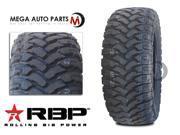 1 X New RBP Repulsor M/T 33X12.50R20LT 114Q 10Ply All Terrain Mud Tires MT