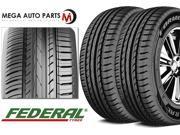 2 X New Federal Formoza AZ01 195/45R16 84V XL All Season Performance Tires