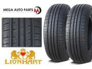 2 X New Lionhart LH-501 215/60R16 95V All Season High Performance Tires
