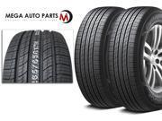 2 X Hankook RA33 Dynapro HP2 255/55ZR18 109V XL All Season Performance Tires