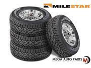4 X Milestar Patagonia A/T 235/75R15 109T XL All Terrain High Performance Tires