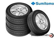 4 X New Sumitomo HTR A/S P02 235/55/20 102H BW All Season High Performance Tires