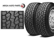 2 X New Hankook RF10 DYNAPRO AT-M LT315/70R17 121/118R D/8 OWL All Terrain Tires