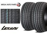 2 X New Lexani LXUHP-107 215/40R17 83W All Season Ultra High Performance Tires