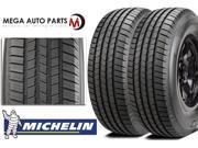 2X Michelin Defender LTX M/S LT255/65R18 120/117R E All Season Performance Tires