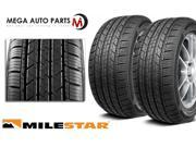 2X New Milestar MS932 245/60R18 105H SL 540AA All Season Performance Sport Tires