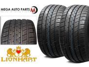 2X New Lionhart LH-FIVE 245/35R21 96W XL All Season Ultra High Performance Tires