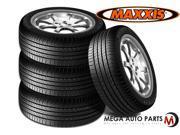 4 X New Maxxis Bravo HP-M3 225/45R17 91V Premium All Season Performance Tires