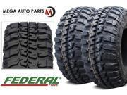 2 X Federal Couragia MT LT205/80R16 8Ply 110/108Q Off Road All Terrain Mud Tires