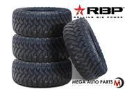 4 X New RBP Repulsor M/T 33X12.50R20LT 114Q 10Ply All Terrain Mud Tires MT
