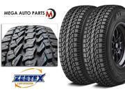 2 X New Zeetex AT1000 LT285/70R17 10P E Load All Terrain High Performance Tires