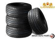 4XNew Lionhart LH-FIVE 265/45R20 104W XL All Season Ultra High Performance Tires