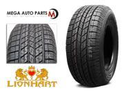 1 X New Lionhart LH-HTS P265/75R16 116H All Season High Performance Tires