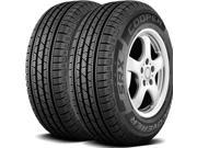 2 X New Cooper Discoverer SRX 265/70R17 115T OWL All Season Performance Tires
