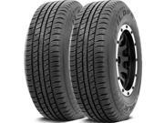 2 X Falken Wild Peak H/T 235/60R18 107H XL BLK All Season Performance Tires