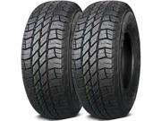 2 X New Gladiator QR800-AT LT245/75R17 121Q 10Ply E-Load All Terrain Tires