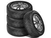 4 X New Solar 4XS 205/70/15 96S BLK SL All Season Performance Tires By Sumitomo