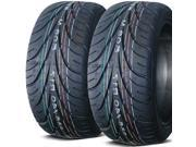 2 X New Federal 595RS-R 235/40ZR18 91W Ultra High Performance Tires
