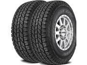 2 X Yokohama Geolandar A/T G015 265/75R16 114T OWL All Terrain Tires