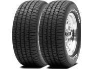 2 X BF Goodrich Radial T/A P215/60R14 91S RWL Tires