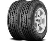 2 X New Cooper Discoverer HT3 LT235/75R15 C Commercial Rib All Season Tires