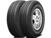2 X Bridgestone DUELER HL ALENZA PLUS P275/60R20 114H Premium All Season Tires