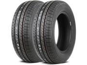 2 X New Federal SS657 215/65R15 96H BSW All Season High Performance Tires