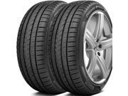 2 X New Pirelli Cinturato P1 Plus 235/40R18 95W XL Ultra High Performance Tires