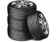 4 X New Vogue Signature V Black Ultra High Performance 235/50R18 101W XL Tires