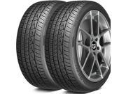 2 X New General Grabber AT2 265/70R17 115S OWL Tires