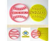 Custom Baseball Softball Cookie Cutter, Personalized with Team/ Player Name