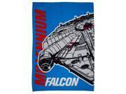 Star Wars Millennium Falcon Fleece Blanket 9SIAE5P5YN2178